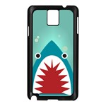 shark - Samsung Galaxy Note 3 N9005 Case (Black)