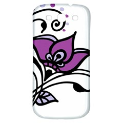 Awareness Flower Samsung Galaxy S3 S Iii Classic Hardshell Back Case by FunWithFibro