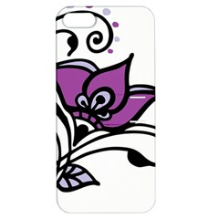 Awareness Flower Apple Iphone 5 Hardshell Case With Stand by FunWithFibro
