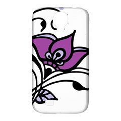 Awareness Flower Samsung Galaxy S4 Classic Hardshell Case (pc+silicone) by FunWithFibro