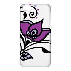 Awareness Flower Apple Iphone 5c Hardshell Case by FunWithFibro
