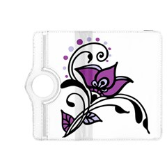 Awareness Flower Kindle Fire Hdx 8 9  Flip 360 Case by FunWithFibro