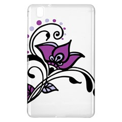 Awareness Flower Samsung Galaxy Tab Pro 8 4 Hardshell Case by FunWithFibro