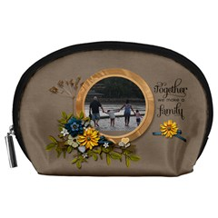 Pouch (l)   Family4 By Jennyl   Accessory Pouch (large)   Eynsdnffqz05   Www Artscow Com Front