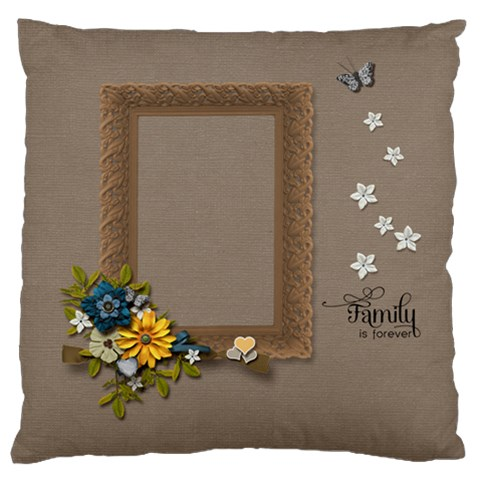Cushion Case  Family3 By Jennyl   Large Cushion Case (one Side)   Cr634rl2dt75   Www Artscow Com Front