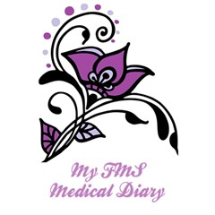 Awareness Flower Notebook by FunWithFibro