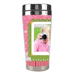 Christmas By Joely   Stainless Steel Travel Tumbler   11hu1692hdwr   Www Artscow Com Left