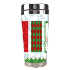 Christmas By Joely   Stainless Steel Travel Tumbler   Zuhlyr87phu9   Www Artscow Com Left
