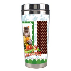 Christmas By Joely   Stainless Steel Travel Tumbler   Zuhlyr87phu9   Www Artscow Com Right