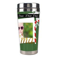 Christmas By Joely   Stainless Steel Travel Tumbler   8p2vboy165pm   Www Artscow Com Center