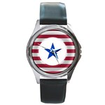 Star  - Round Metal Watch