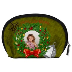 Christmas By Debe Lee   Accessory Pouch (large)   Un5c234lht2v   Www Artscow Com Back