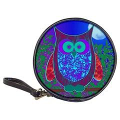 Moon Owl  CD Wallet by SaraThePixelPixie