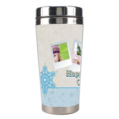 Christmas By Joely   Stainless Steel Travel Tumbler   5tgcvk6rrrm1   Www Artscow Com Left