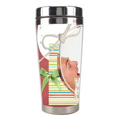 Christmas By Joely   Stainless Steel Travel Tumbler   Gybd6n8h6qye   Www Artscow Com Left