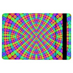 Many Circles Apple Ipad Air Flip Case by SaraThePixelPixie
