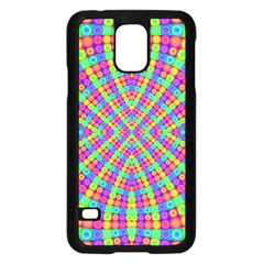 Many Circles Samsung Galaxy S5 Case (Black) by SaraThePixelPixie