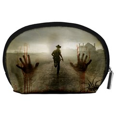 The Walking Dead By Julie   Accessory Pouch (large)   M8n5r8v14crk   Www Artscow Com Back