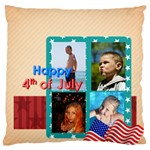 usa 4 july - Large Cushion Case (Two Sides)