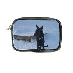 Snowy Gsd Coin Purse