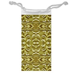 Gold Plated Ornament Jewelry Bag