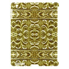 Gold Plated Ornament Apple Ipad 3/4 Hardshell Case (compatible With Smart Cover) by dflcprints