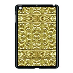 Gold Plated Ornament Apple iPad Mini Case (Black) by dflcprints