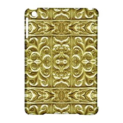 Gold Plated Ornament Apple Ipad Mini Hardshell Case (compatible With Smart Cover) by dflcprints