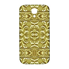 Gold Plated Ornament Samsung Galaxy S4 I9500/i9505  Hardshell Back Case by dflcprints