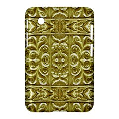 Gold Plated Ornament Samsung Galaxy Tab 2 (7 ) P3100 Hardshell Case  by dflcprints