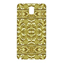 Gold Plated Ornament Samsung Galaxy Note 3 N9005 Hardshell Back Case by dflcprints
