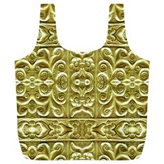 Gold Plated Ornament Reusable Bag (xl)
