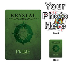 Krystal Primes Penalites By Jérôme Loludian Barthas   Multi Purpose Cards (rectangle)   Skyw4szw2eua   Www Artscow Com Back 22