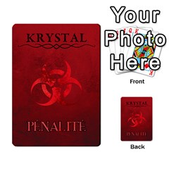 Krystal Primes Penalites By Jérôme Loludian Barthas   Multi Purpose Cards (rectangle)   Skyw4szw2eua   Www Artscow Com Back 48