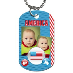 Usa By Usa   Dog Tag (two Sides)   6lp8pc1tkgux   Www Artscow Com Front