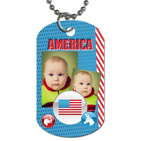 Usa By Usa   Dog Tag (one Side)   Aphqjekbhbtq   Www Artscow Com Front