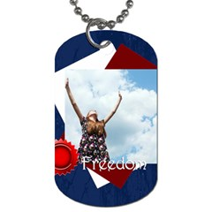 Usa By Usa   Dog Tag (two Sides)   Fv0hp4obt13m   Www Artscow Com Back