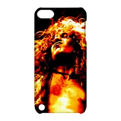 Golden God Apple Ipod Touch 5 Hardshell Case With Stand by SaraThePixelPixie
