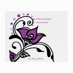 2015 Awareness Day Glasses Cloth (small) by FunWithFibro