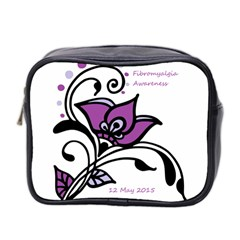 2015 Awareness Day Mini Travel Toiletry Bag (two Sides) by FunWithFibro