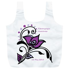2015 Awareness Day Reusable Bag (xl) by FunWithFibro