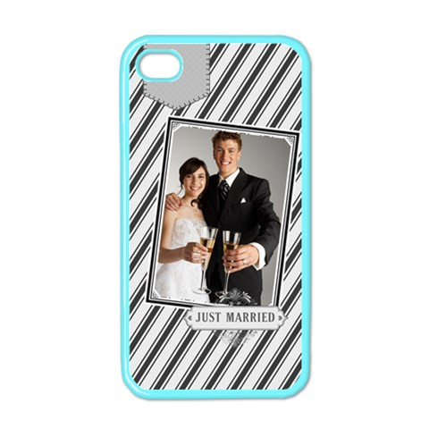 Wedding By Paula Green   Apple Iphone 4 Case (color)   Rmnprceerc4i   Www Artscow Com Front