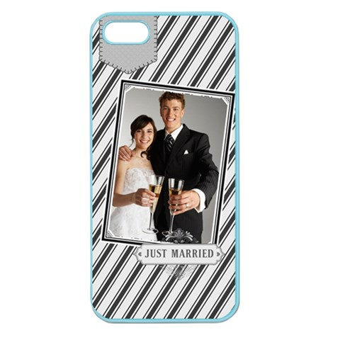 Wedding By Paula Green   Apple Seamless Iphone 5 Case (color)   0v6i0cgzbxul   Www Artscow Com Front