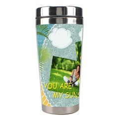 Summer By Summer Time    Stainless Steel Travel Tumbler   5cvvqtpm6sk7   Www Artscow Com Left