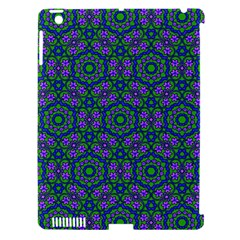 Retro Flower Pattern  Apple Ipad 3/4 Hardshell Case (compatible With Smart Cover) by SaraThePixelPixie