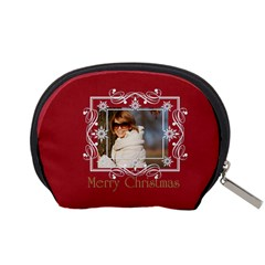 Xmas Gift By May   Accessory Pouch (small)   O63iwv7ynak1   Www Artscow Com Back