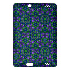 Retro Flower Pattern  Kindle Fire Hd 7  (2nd Gen) Hardshell Case by SaraThePixelPixie