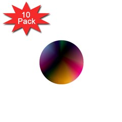 Prism Rainbow 1  Mini Button (10 Pack) by StuffOrSomething