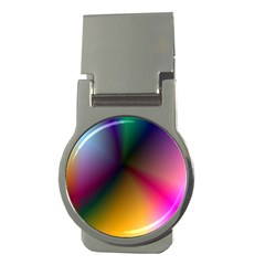 Prism Rainbow Money Clip (round) by StuffOrSomething