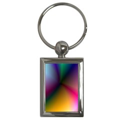 Prism Rainbow Key Chain (rectangle) by StuffOrSomething